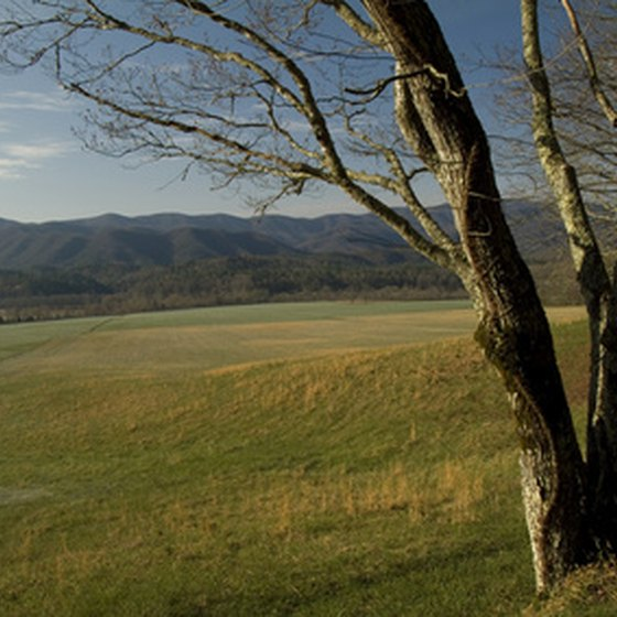 Cades Cove in the Great Smoky Mountains National Park.