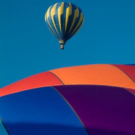 Take the kids on a hot-air balloon ride over the Temecula Valley.