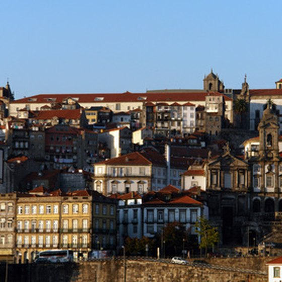 Porto as seen from Vila Nova de Gaia.