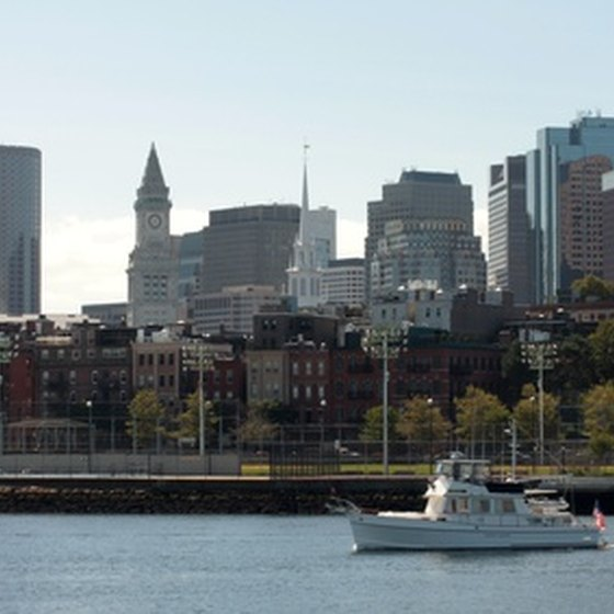 Some New England tours concentrate on one area such as Boston.