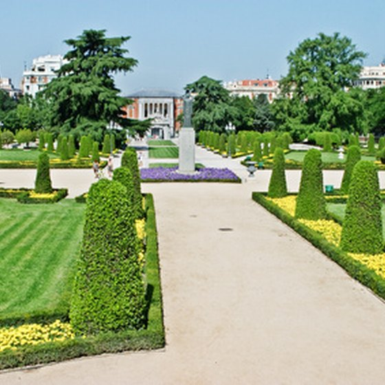 Stroll the extensive gardens of Parque del Retiro in the heart of Madrid.