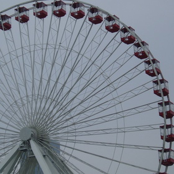 The Navy Pier Ferris wheel highlights a trip to Chicago for many families.