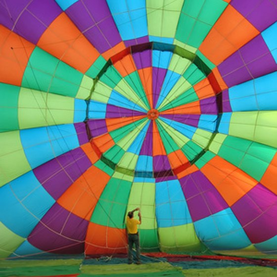 Don't miss the annual Taos Mountain Balloon Rally.