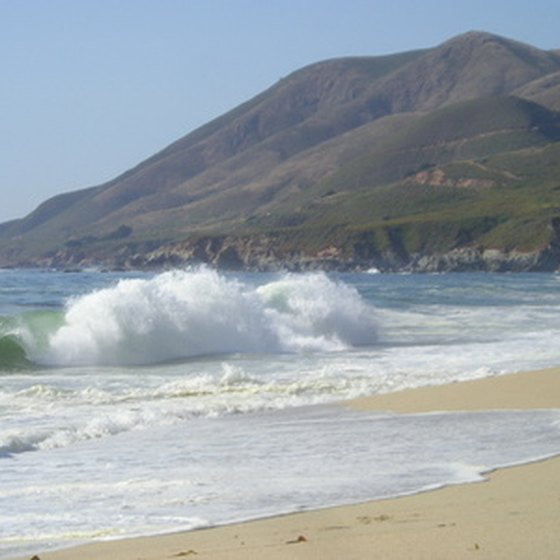 California state beaches offer inexpensive RV camping.