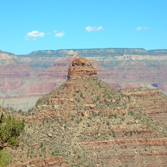 Cameron, Arizona, is just east of Grand Canyon National Park.