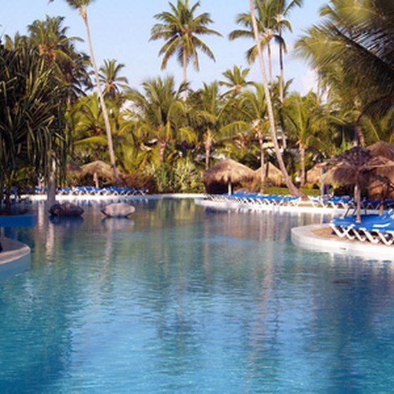 Luxury resorts are numerous in the Dominican Republic.