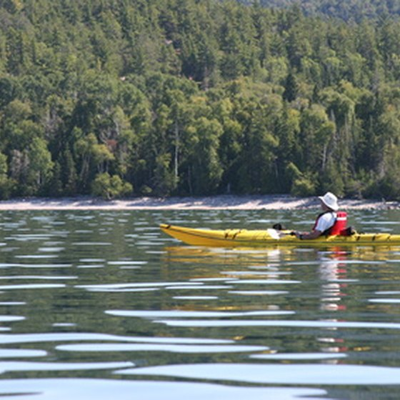 Pack light for kayak trips.