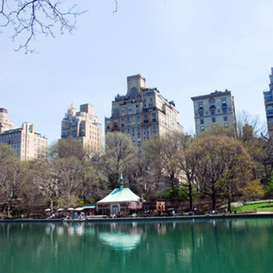 Central Park offers relatively low-budget entertainment.