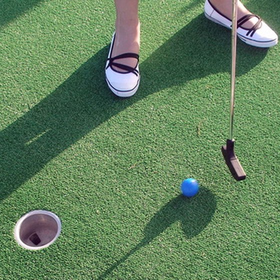 Head north, south or east for the best miniature golf in the San Francisco Bay Area.