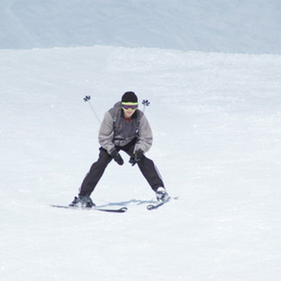 Ski equipment can be rented in many areas of Arizona.
