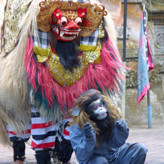 Travel to Ubud and see a Barong dance.