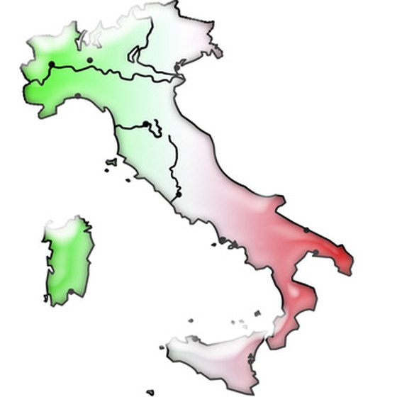 The regions of Italy differ in climate.