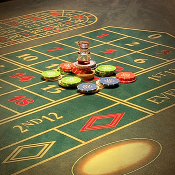 Casinos near Chicago offer roulette and other table games.
