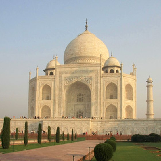 Agra is home of the Taj Mahal