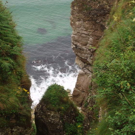 The cliffs of Ireland are a popular sight on many Ireland tours.