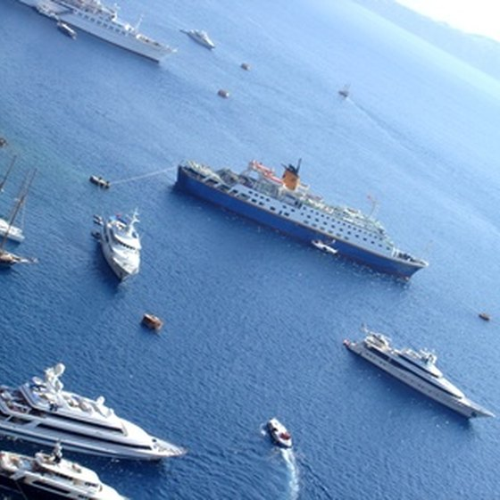 Santorini offers plenty of sightseeing options for cruise passengers.