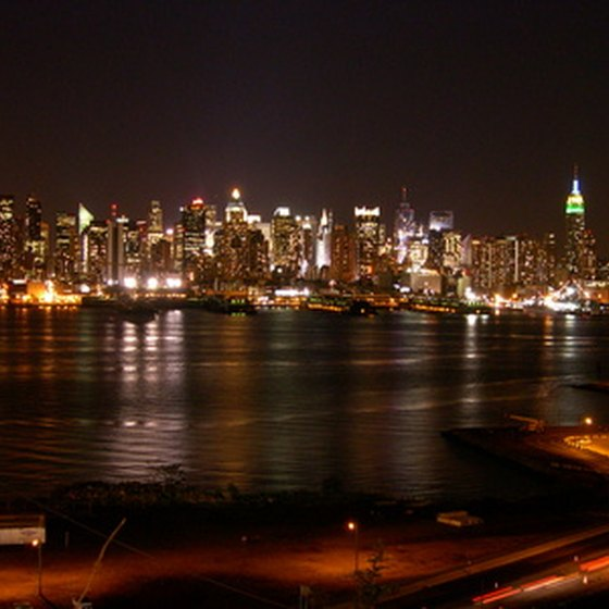 There are a number of ways to enjoy the New York City skyline at night.