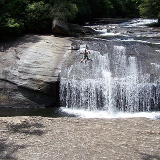 Experience the natural beauty of North Carolina by RV camping in the state parks.