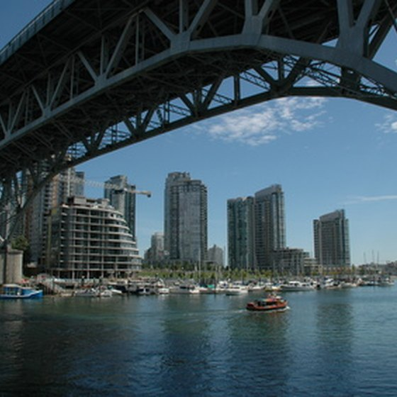 Vancouver's waterfront is an integral part of the city.