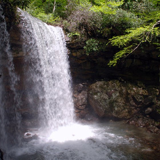 There are many waterfalls to explore in the rolling hills around Chambersburg.