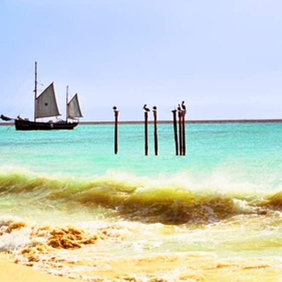 Enjoy a vacation in Aruba aboard a chartered boat.
