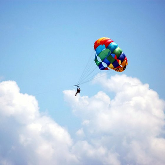 Parasailing is a great way to enjoy Panama City Beach.