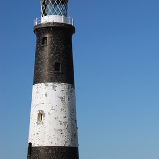 The Orient Point Lighthouse is a famous attraction.