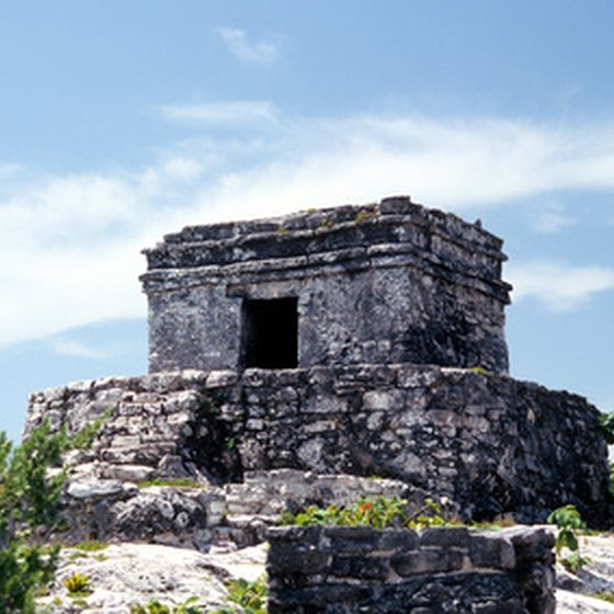 Impressive Mayan ruins are within a short drive from Merida
