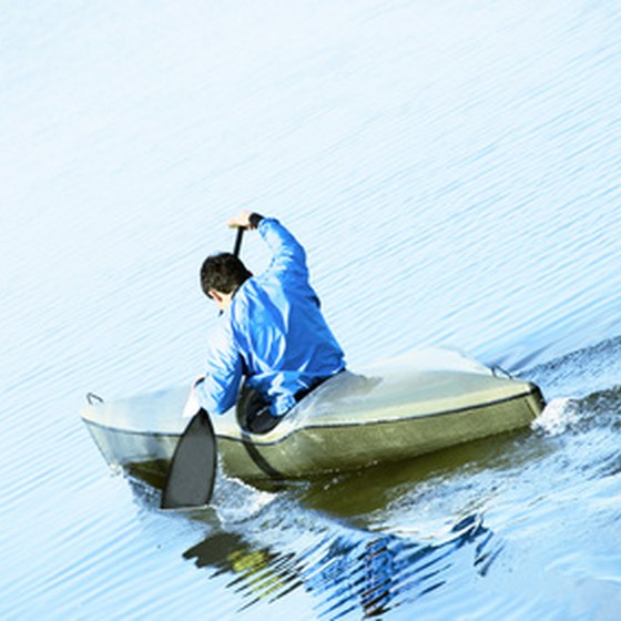Canoeing is one of the outdoor activities available near Muncie, Indiana.
