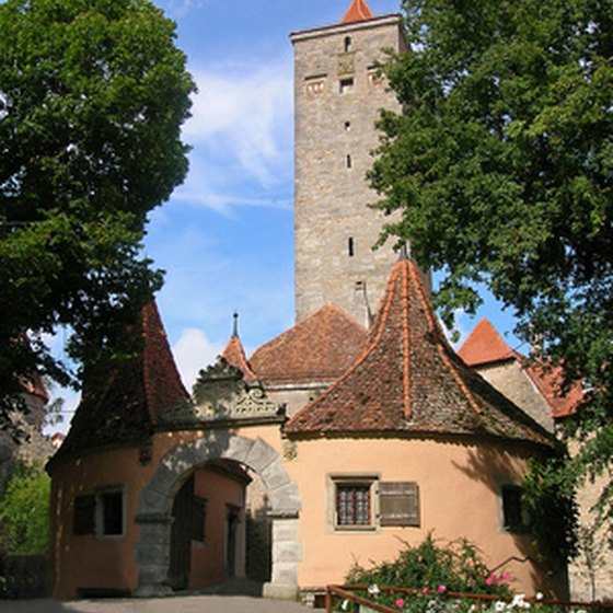 Rothenburg city gate