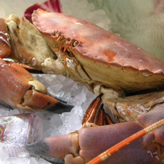 You'll find lots of fresh seafood in Little Rock.