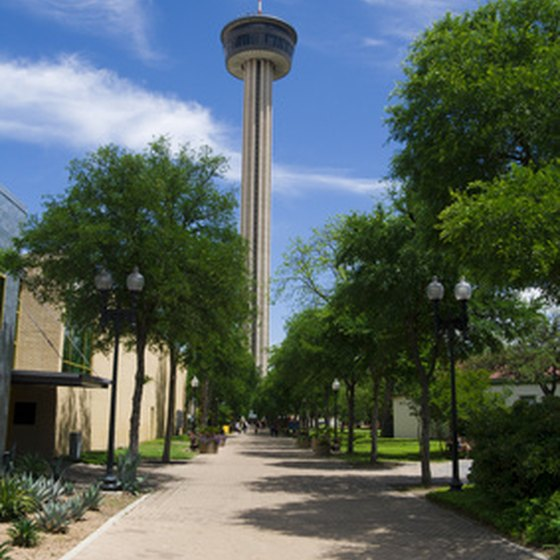 Tower of the Americas in HemisFair Park.