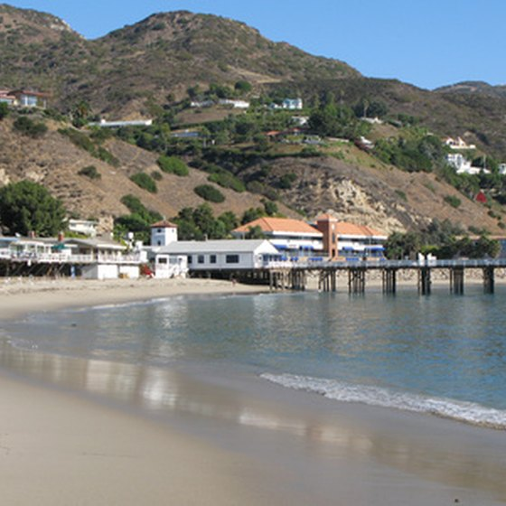 Malibu is a popular beach vacation destination for tourists.