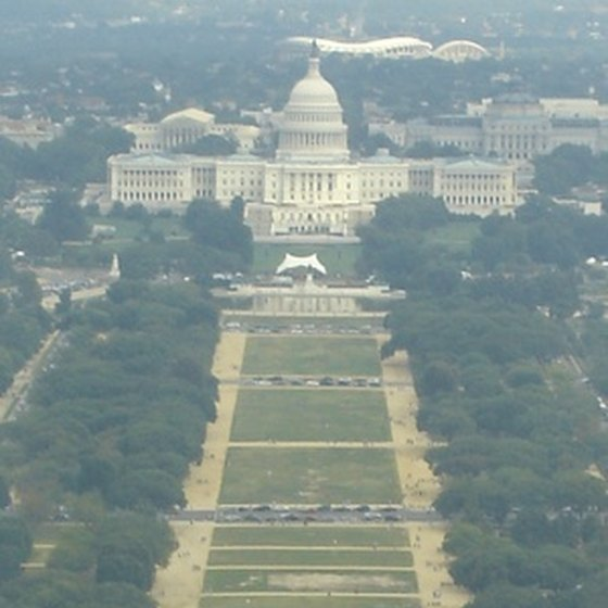 The National Mall in Washington, D.C., is a draw for visitors from around the country.