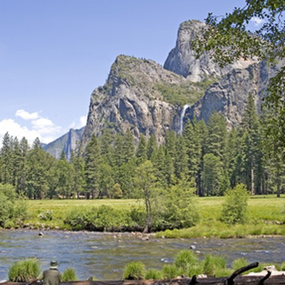 Yosemite National Park offers spectacular beauty.