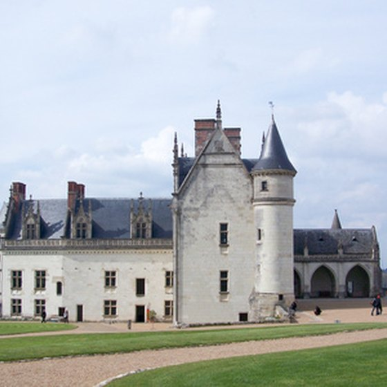 Leonardo da Vinci is buried in the Château d'Amboise, in France's Loire Valley.