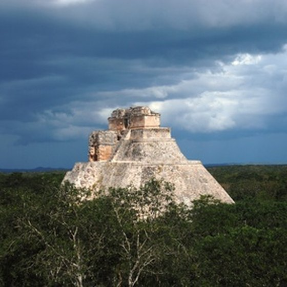 The magnificent Mayan ruins of Uxmal are just an hour's drive from Merida.