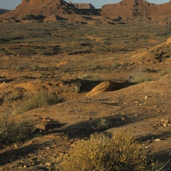 Many Western movies have been shot in Monument Valley on the Arizona/Utah border.