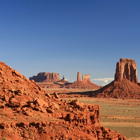 The Navajo-owned View Hotel overlooks Monument Valley.