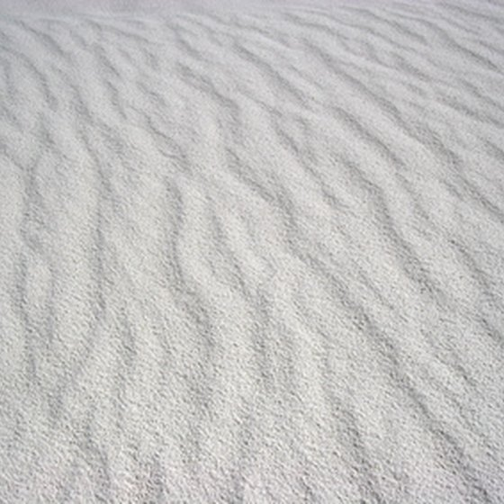The White Sands National Monument is close to Las Cruces.