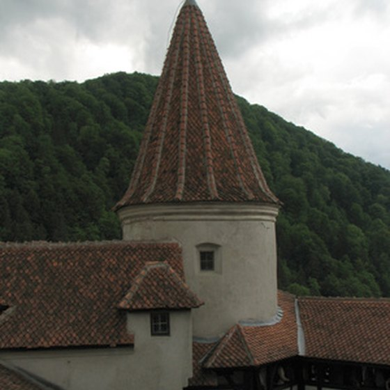 The Danube Express can take you to Dracula's birthplace, Bran Castle.