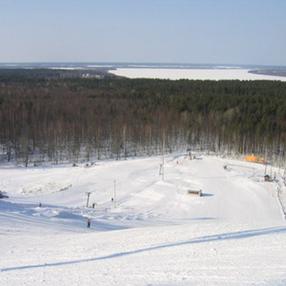 Michigan's western Upper Peninsula offers many downhill skiing opportunities.