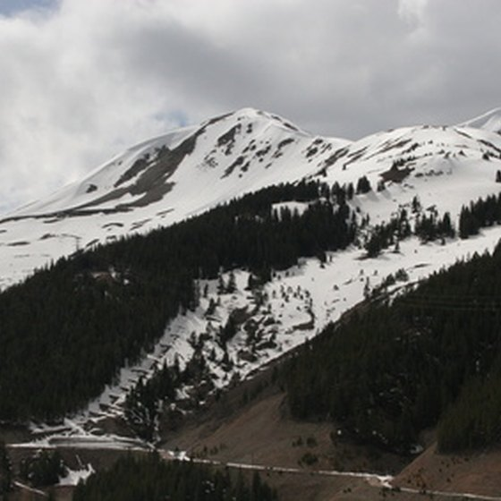 Copper Mountain Resort has a total vertical drop of 2,601 feet.