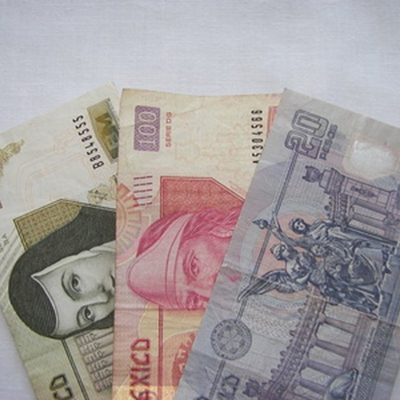 Mexican money.