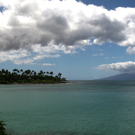 Surrounded by water, Hawaii is a natural for fishing trips.