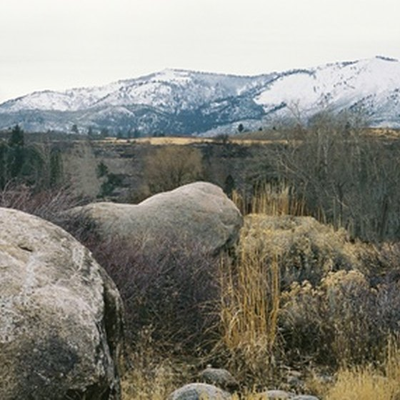 Reno enjoys a beautiful natural setting just east of the Sierra Nevadas.