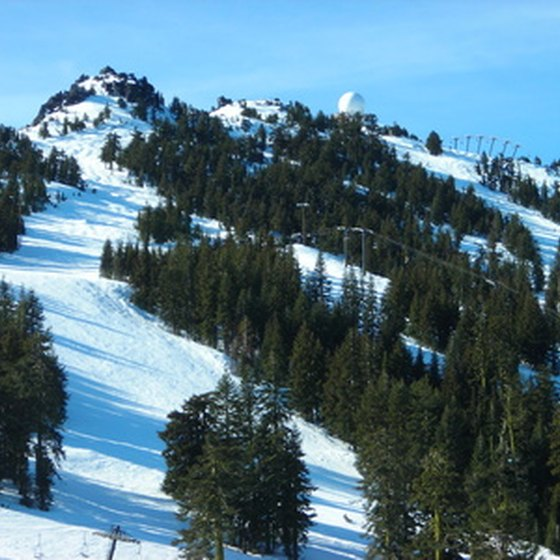 You can find the nation's highest skiable peaks in Colorado.