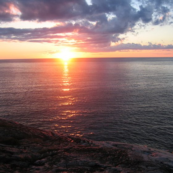 Lake Superior is a focal point of Duluth, Minnesota.