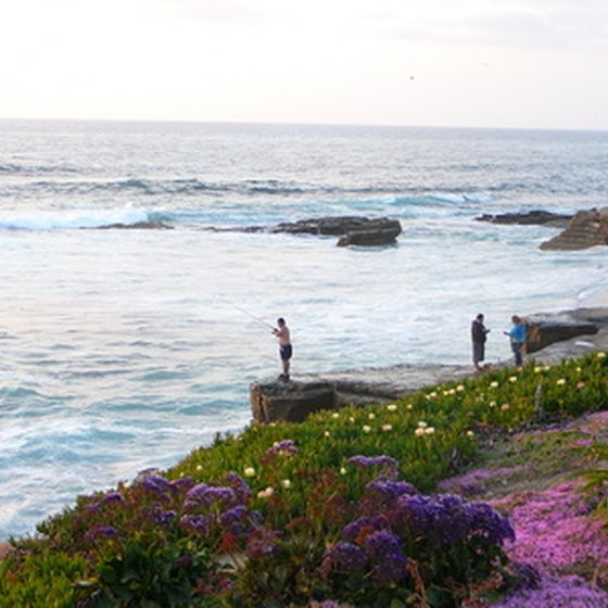 San Diego has 70 miles of coastline.