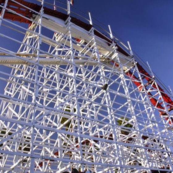 Santa Cruz Beach Boardwalk offers nostalgic and contemporary thrill rides.